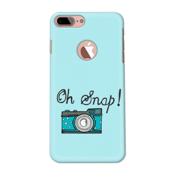 Oh Snap! Mobile Cover For IPHONE 7 PLUS LOGO CUT - Cover Mobi